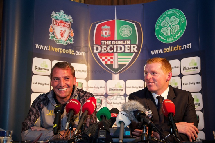 Football - Preseason Friendly - Glasgow Celtic FC v Liverpool FC