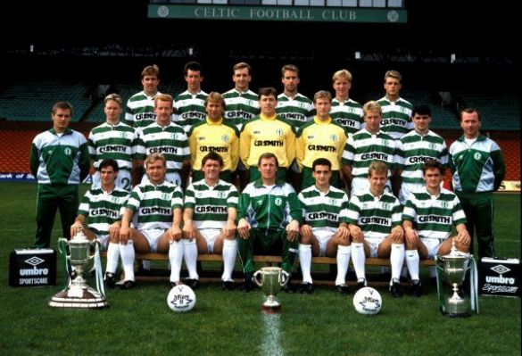 Celtic team 1988/1989